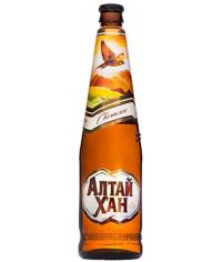Пиво Алтай-Хан 0,5л. бутылка