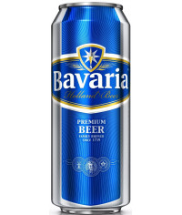 Пиво Бавария Премиум Пилзнер 0,5л.банка