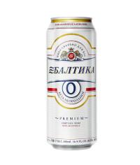 Пиво Балтика №0 банка