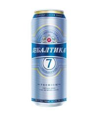 Пиво Балтика №7 0,45л. банка