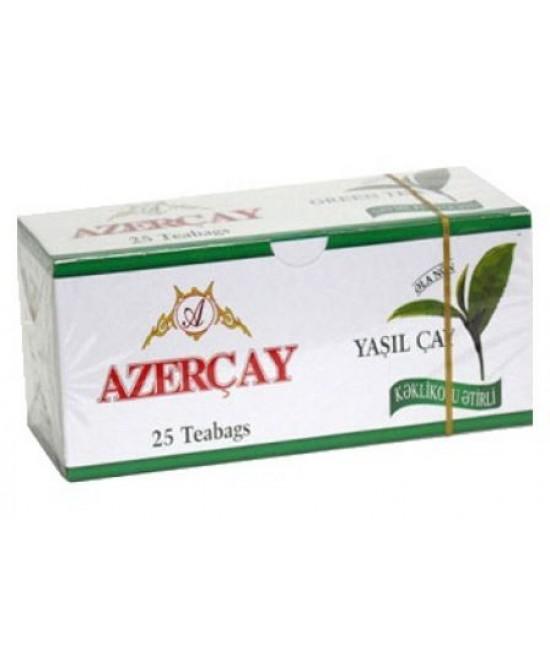 Азер чай зел. с чабрецом 25 пак.